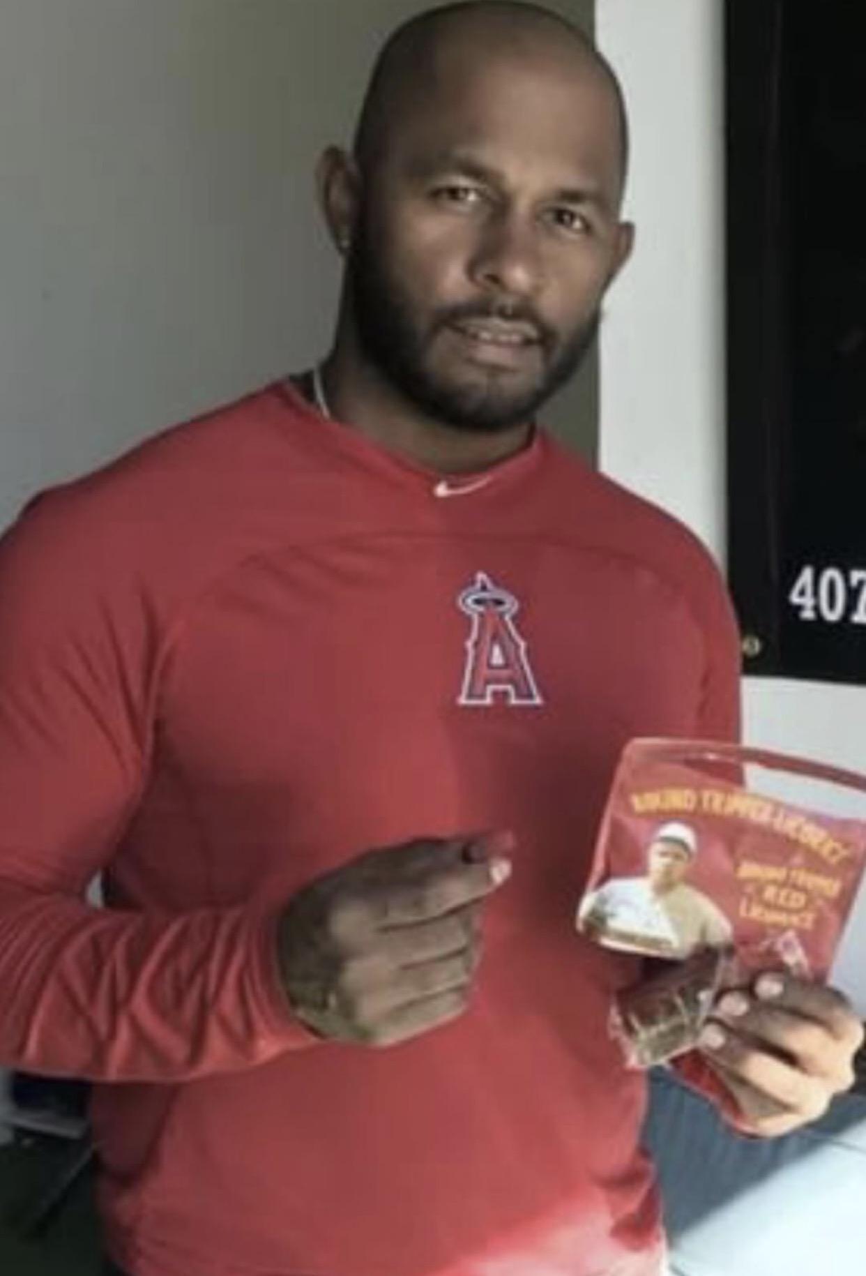 Rey Navarro Anaheim Angels