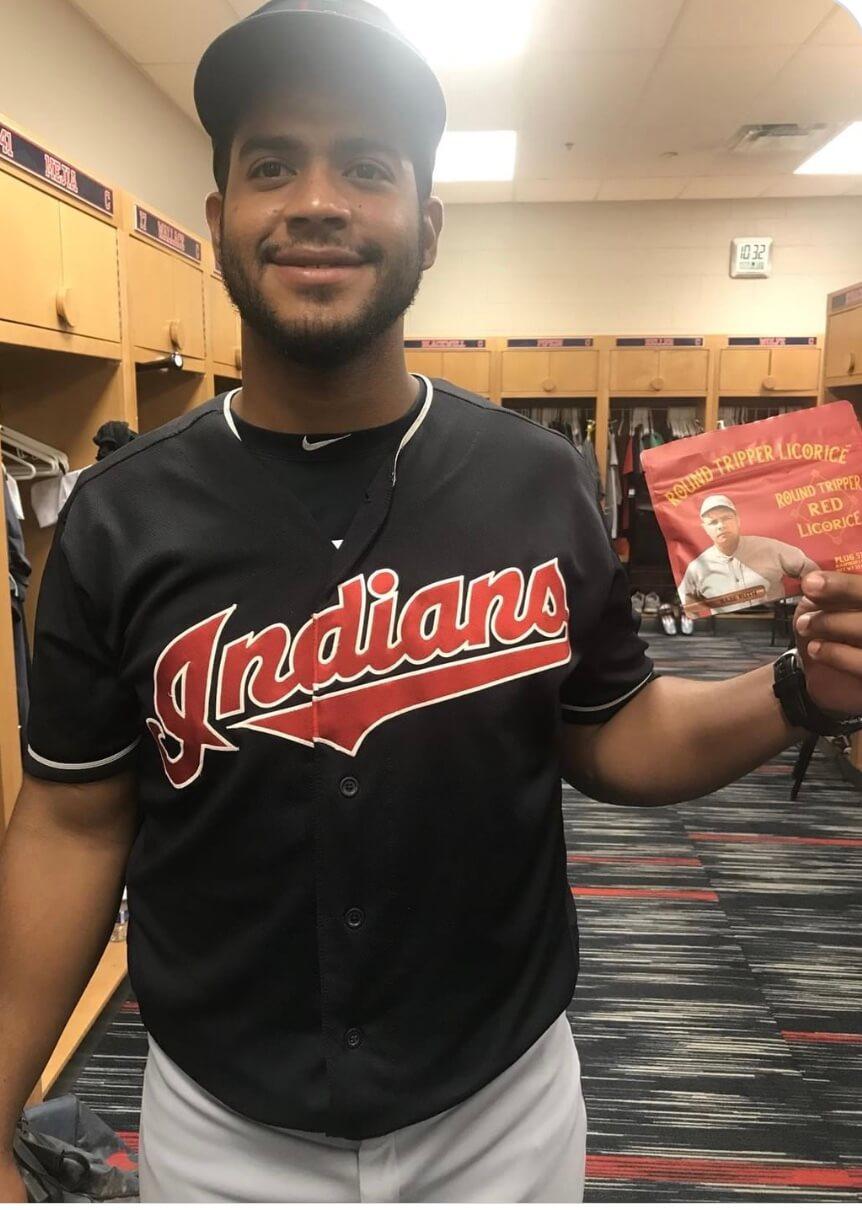 Juan De La Cruz Cleveland Indians Rookie Ball batting coach