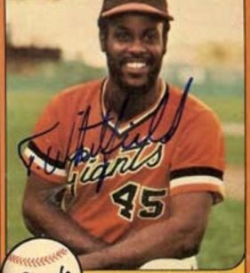 Terry Whitfield former San Francisco Giant